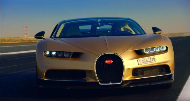 Bugatti Chiron review in Top Gear season 24