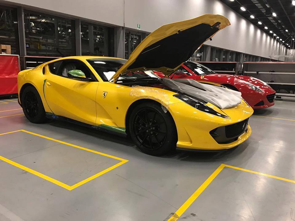 Checkout this Yellow 812 Superfast. How will you Spec your Ferrari?