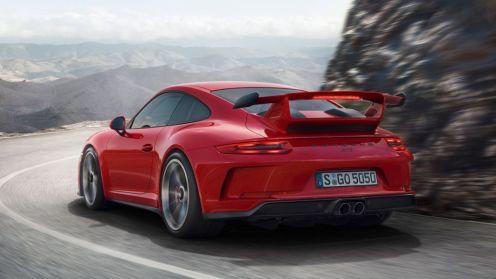 2018 Porsche 911 GT3-2017 Geneva Motor Show-2