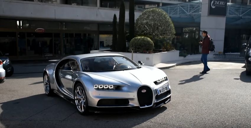 VIDEO: First Bugatti Chiron Spotted Driving on Streets of Monaco