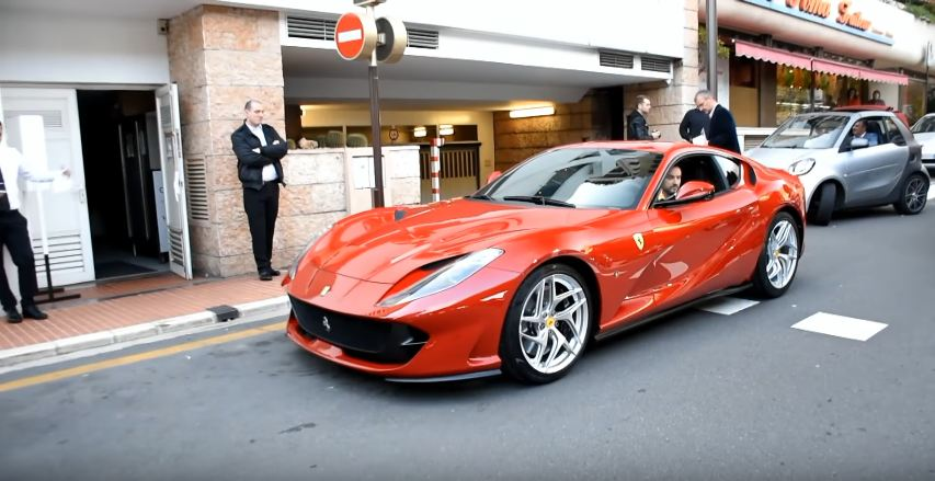 VIDEO: Ferrari 812 Superfast Lands in Monaco Following Geneva Debut