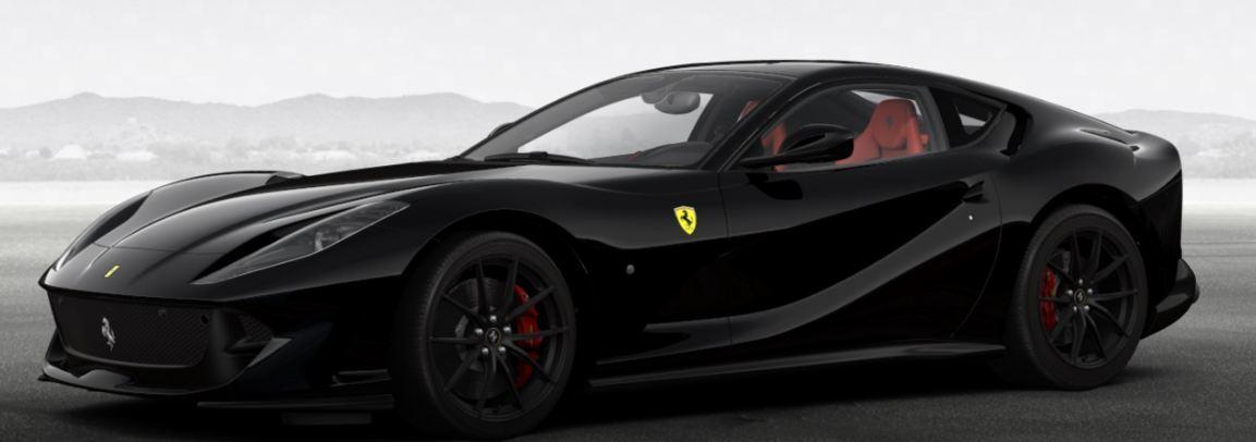 We Configure a Murdered Out Ferrari 812 Superfast