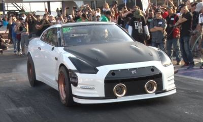 Nissan GT-R Alpha G by AMS Performance-TX2K17-Quarter mile World Record
