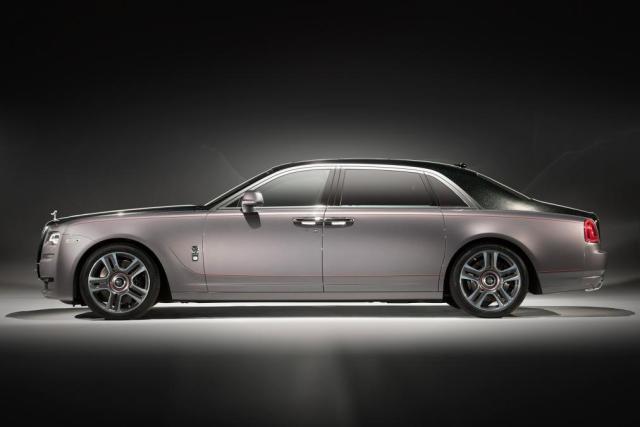 Rolls Royce Ghost Elegance-2017 Geneva Motor Show-1