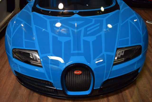 Bugatti veyron grand sport vitesse transformers - photo#28