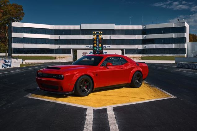 Dodge Challenger SRT Demon-2017 New York Auto Show-3