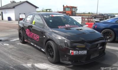 World's fastest Mitsubishi EVO X-TX2K17-1320video