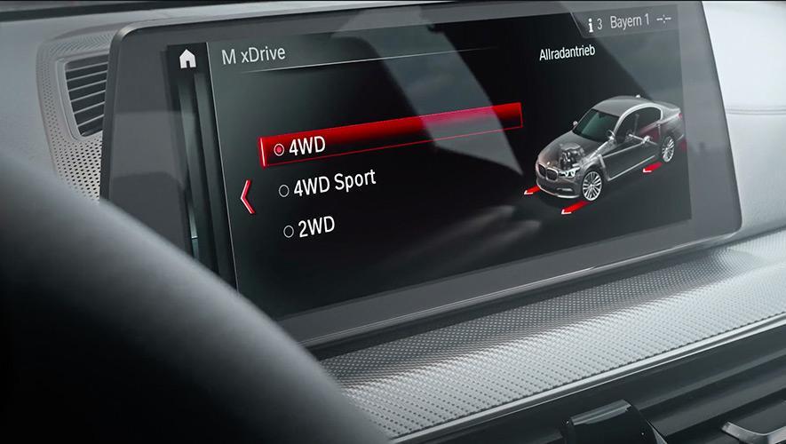 2018 BMW M5-M xDrive Modes