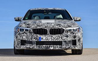 2018 BMW M5-Prototype-2