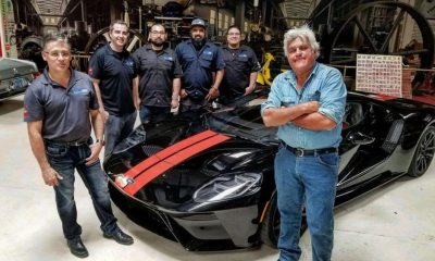 Jay Leno-2017 Ford GT-Garage