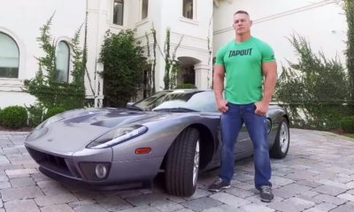 John Cena-Ford GT-car-collection