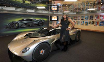 Aston Martin Valkyrie-Serena Williams