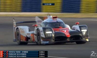 Kamui Kobayashi-Toyota Gazoo Racing-2017 Le Mans Lap Record