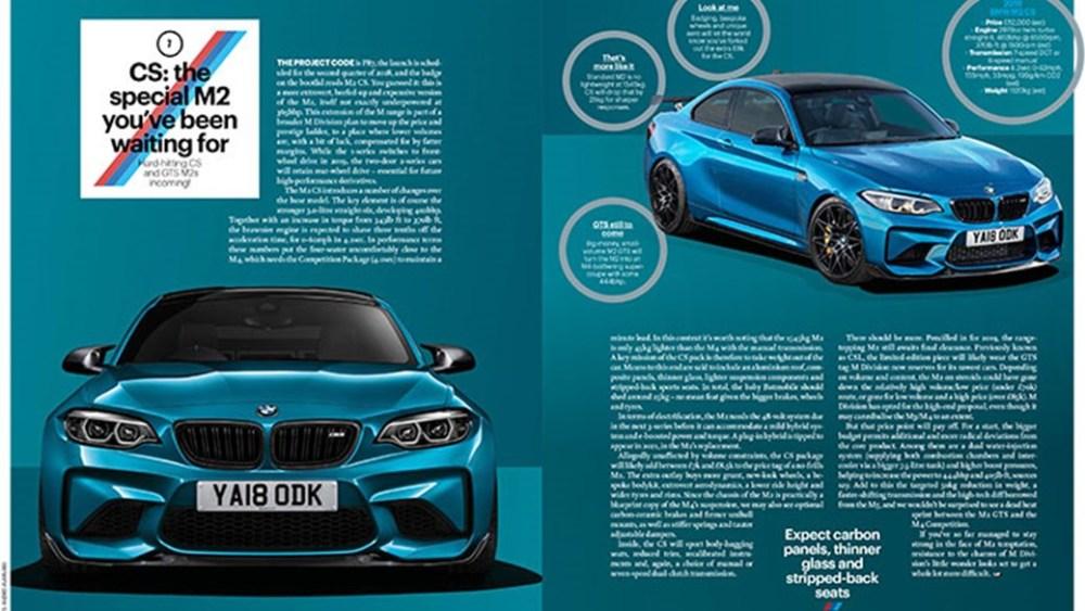 2018 BMW M2 CS-Leaked-Image-1
