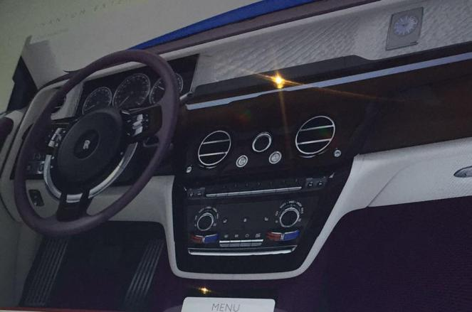 2018 Rolls Royce Phantom-interior-Leaked