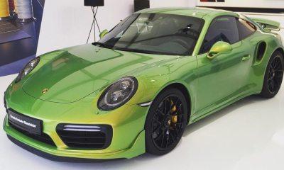 Porsche-911-TurboS-Exclusive-Green-1