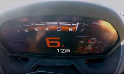 McLaren 720S-half mile acceleration run