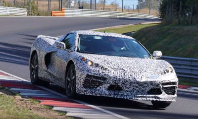 Mid engine C8 Corvette Nurburgring spy shots