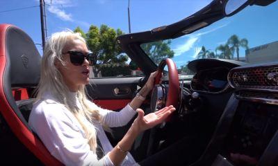 Supercar Blondie Koenigsegg Regera