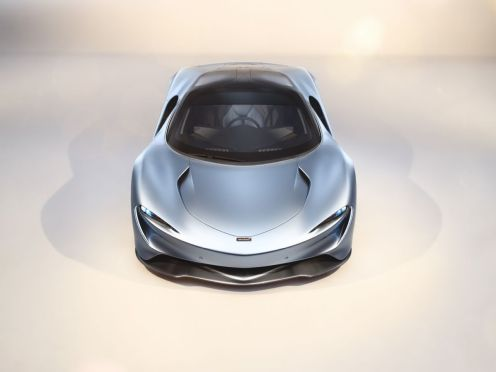 2019 McLaren Speedtail 1