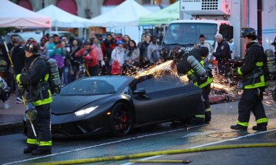 Lamborghini Huracan Performante Spyder Fire 03