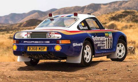 Porsche 959 Rally Car-RM Sothebys Auction-2018-3