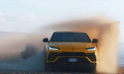 Lamborghini Urus-Beach-Sabbia Mode