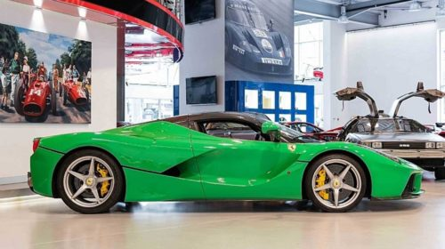 Jay Kay Signal Green LaFerrari for Sale-2