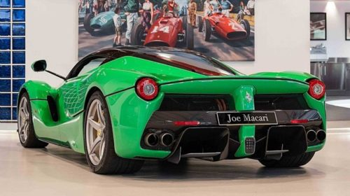 Jay Kay Signal Green LaFerrari for Sale-3