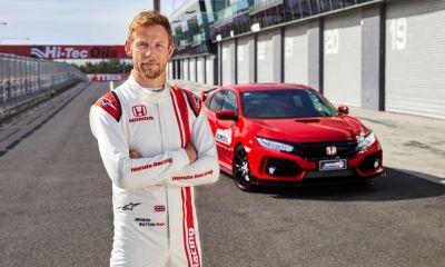 Jenson Button-Bathurst-Civic-TypeR-1