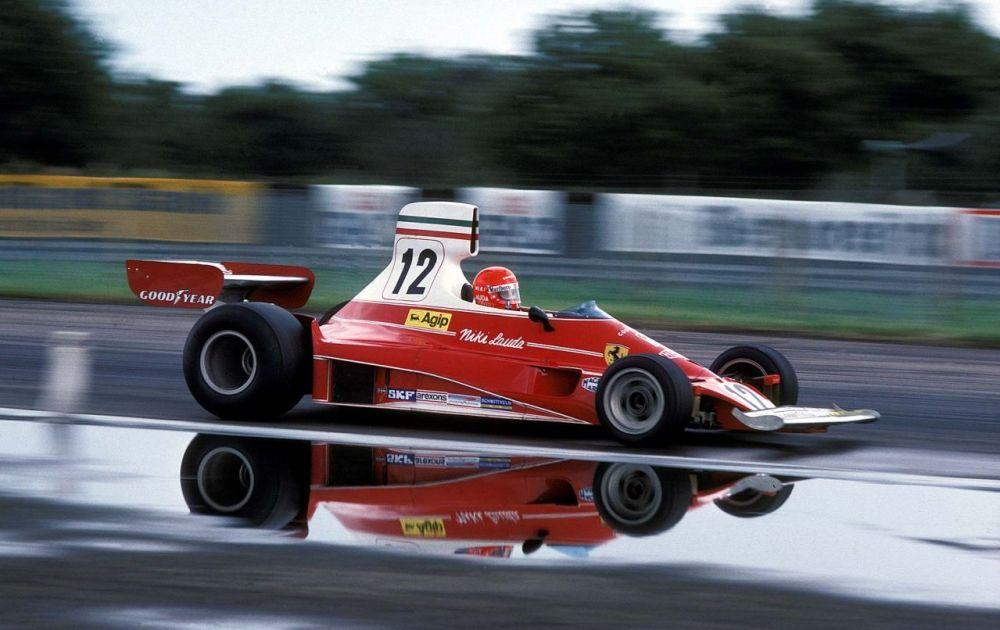 Niki Lauda-Ferrari 312T