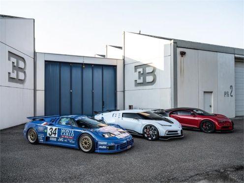 Bugatti Centodieci-EB110 Tribute-Pebble Beach-9