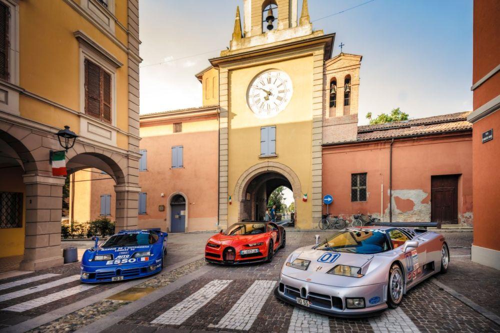 Bugatti EB110-Veyron-Chiron