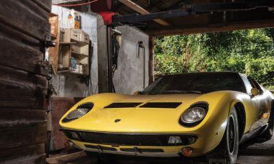 Lamborghini Miura P400S-barn find-auction-1