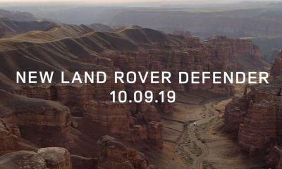 Land Rover Defender teaser