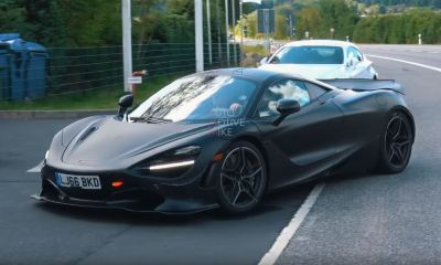 McLaren 720S Long Tail-750LT-Prototype-Nurburgring