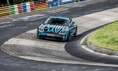Porsche Taycan EV-Nurburgring lap record