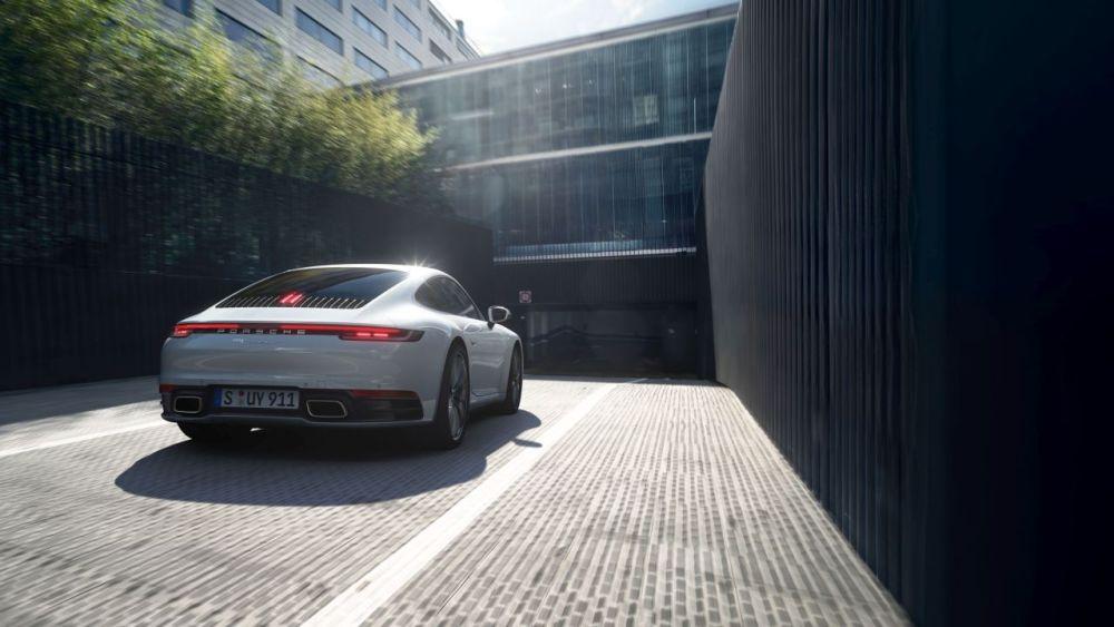 2019 Porsche 911 Carrera 4-Frankfurt-1