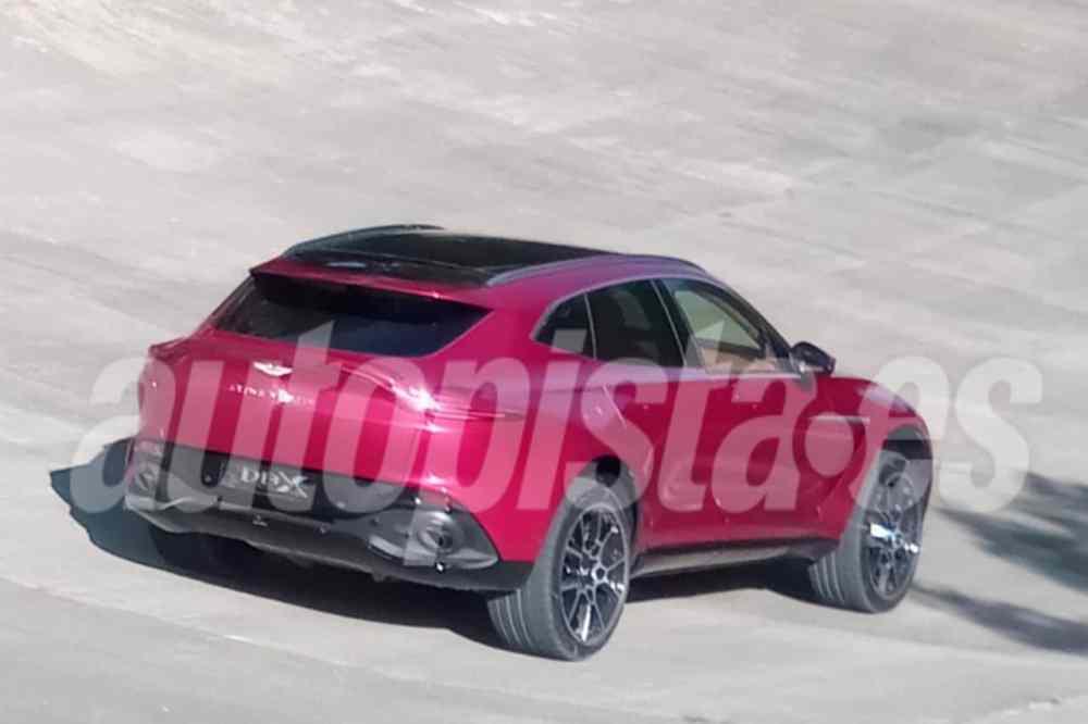 2020 Aston Martin DBX-leaked-spy-images-1