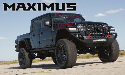 Hennessey Maximus-Jeep Gladiator-SEMA-1