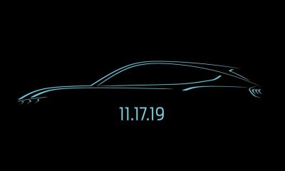 Ford Mustang Mach-E Electric SUV-Teaser