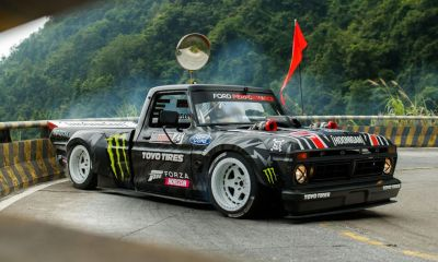 Ken Block-Climbkhana 2-Hoonitruck-China
