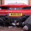 Washing a Ferrari 488 Pista Supercar