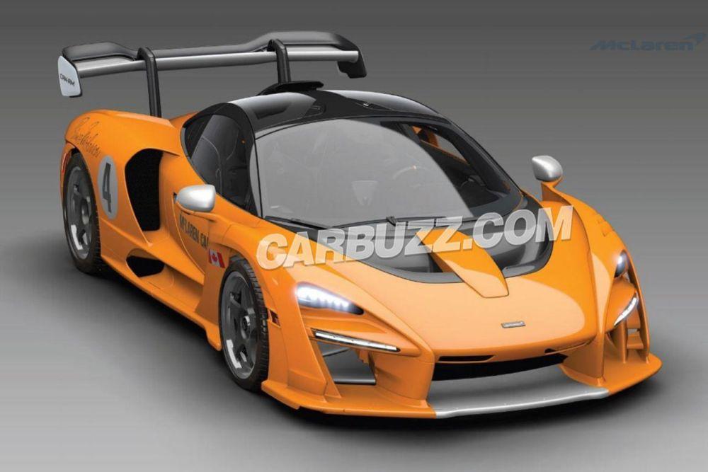 McLaren Senna Can-Am-LM-GTR-2