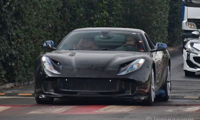 Ferrai 812 GTO-Superfast-spy-shot-2
