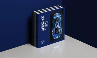 The Last Bugatti Racing Cars-EB110 Book-Retromobile-1