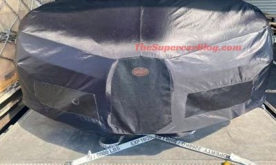 Bugatti Chiron R-2020 Geneva Motor Show-spy-shots-1