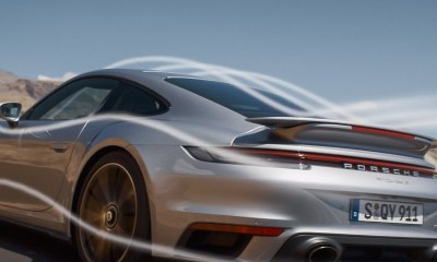 Porsche 911 Turbo S Aerodynamics