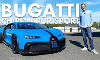 Bugatti Chiron Pur Sport-on-board ride