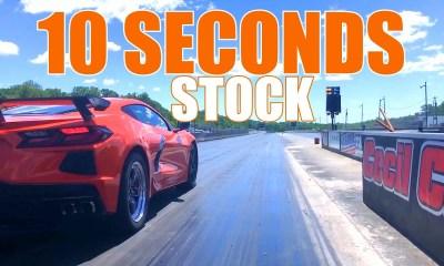 Corvette C8 sub-11 sec quarter mile